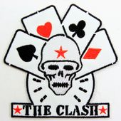 The Clash - 'Cards' Embroidered Patch